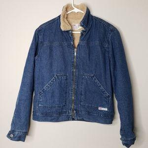 LEVIS Dry Goods Vintage 90's Sherpa denim jacket L